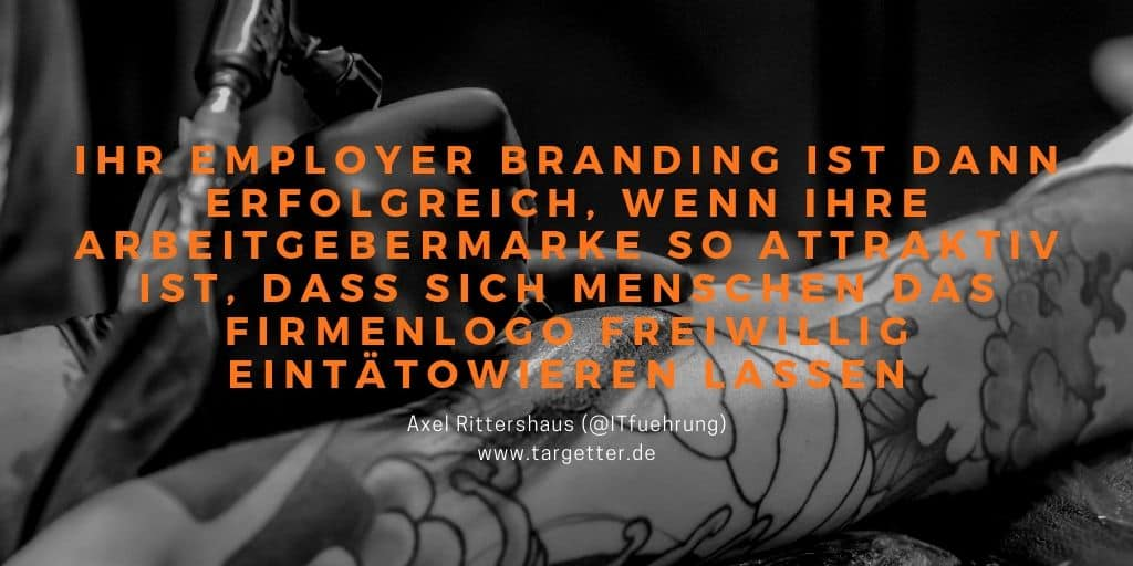 Employer Branding - Die Marke als Tattoo